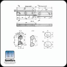 Переходные накладки Р50/Р65  (сварные)
