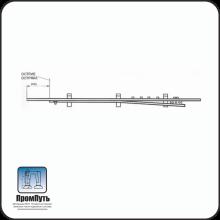 Рамный рельс с остряком Р-65 б/у